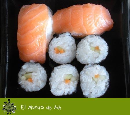 sushi makis y niguiris